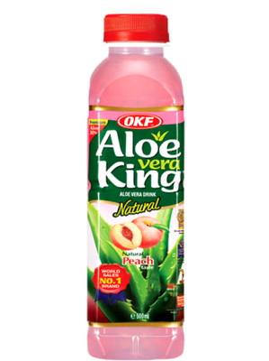 Aloe Vera Drink - Peach Flavour - OKF