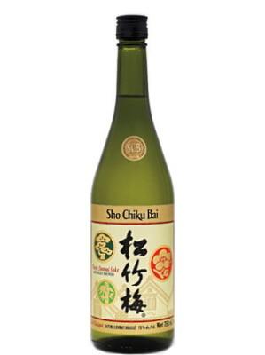 Sho Chiku Bai Classic Junmai Sake 750ml - TAKARA