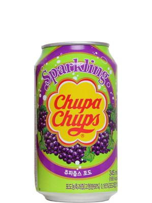 Sparkling Grape Flavour Drink - CHUPA CHUPS