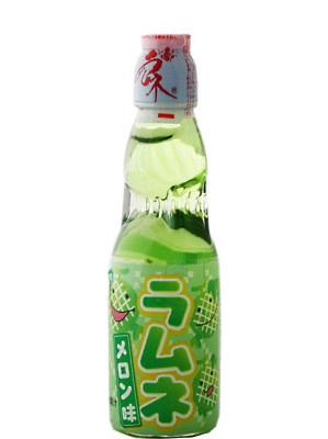RAMUNE Carbonated Soft Drink - Melon Flavour - HATA