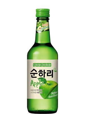 Chum Churum Soju - Apple 360ml - LOTTE