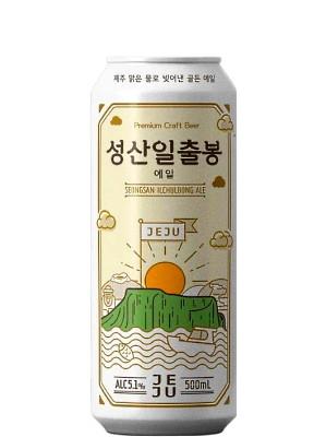Seongsan Ilchulbong Premium Craft Ale 500ml - JEJU