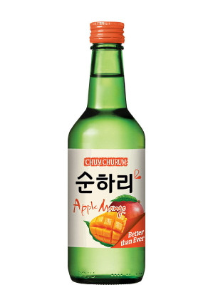 Chum Churum Soju - Apple Mango 360ml - LOTTE