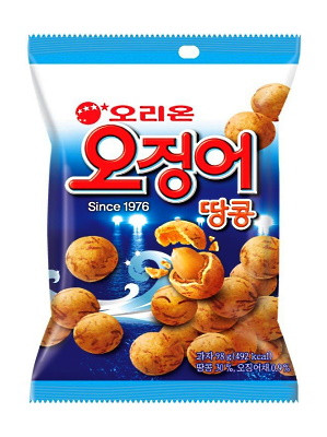 Cuttlefish Flavoured Coated Peanuts - ORION