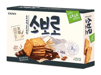 SOBORO Chocolate Almond Cookies - CROWN