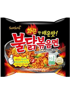 HOT Chicken Flavour Ramen - SAMYANG