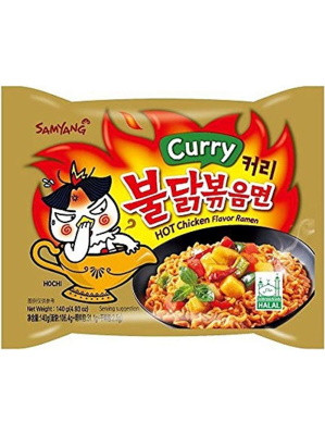 HOT Chicken Flavour Ramen - CURRY - SAMYANG