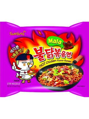 HOT Chicken Flavour Ramen - MALA - SAMYANG