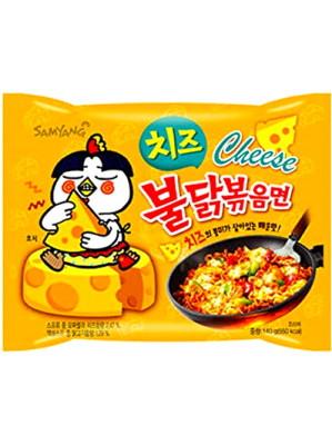 CHEESE Flavour Hot Chicken Ramen - SAMYANG