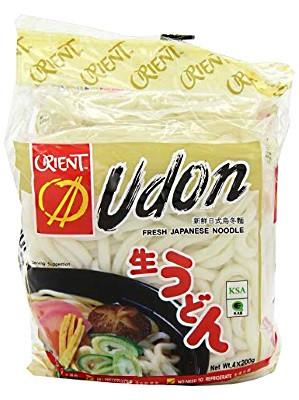 Japanese-style Udon Noodles 4x200g - ORIENT
