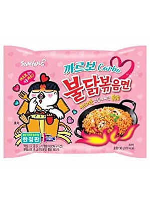 HOT Chicken Flavour Ramen - CARBO Type - SAMYANG