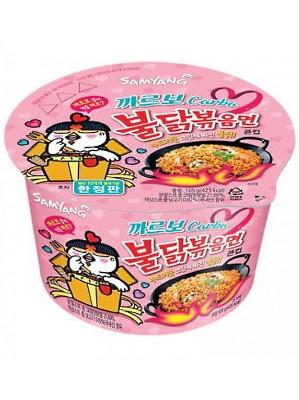 HOT Chicken Flavour Ramen - CARBO Type BIG BOWL - SAMYANG
