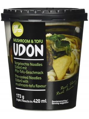 UDON (cup) - Mushroom & Tofu - ALLGROO