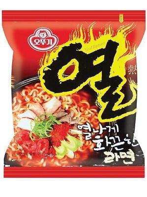 YUEL RAMEN (Spicy) Instant Noodles - OTTOGI