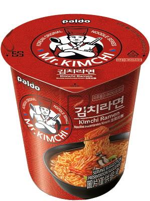 MR KIMCHI Kimchi (soup) CUP Ramen - PALDO