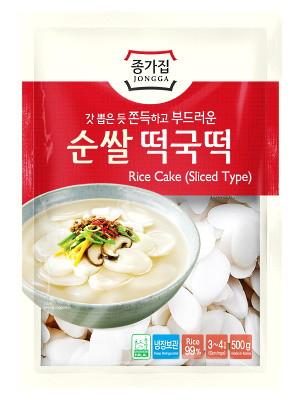 Rice Cake (Sliced Type) 500g - JONGGA