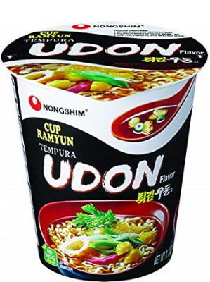 Tempura UDON Cup Noodle Soup - NONGSHIM