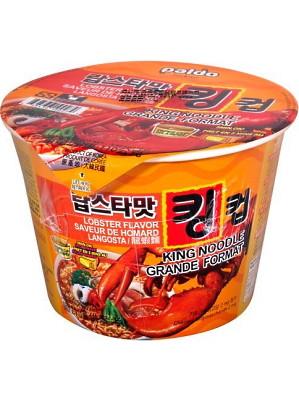 KING NOODLE - Lobster Flavour 110g (cup) - PALDO