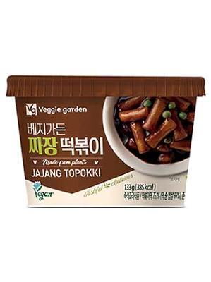 MICROWAVEABLE Vegan Jajang (Black Bean Sauce) Topokki - TAEKYUNG