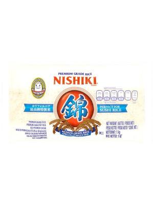 U.S. No.1 Extra Fancy Premium Grade Sushi Rice (Med. Grain) 1kg - NISHIKI