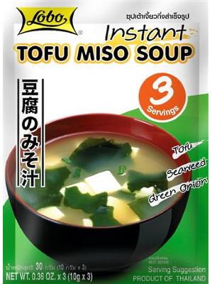 Instant Tofu Miso Soup - LOBO