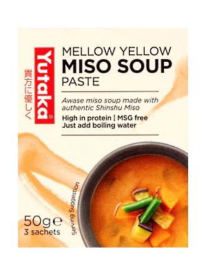 Mellow Yellow Miso Soup Concentrate (Awase) 3 sachets - YUTAKA
