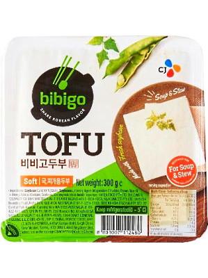 Korean Soft Tofu (for Soup & Stew) 300g - BIBIGO