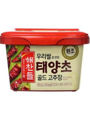 Korean Hot Pepper Paste (Gochujang) 500g - HAECHANDLE
