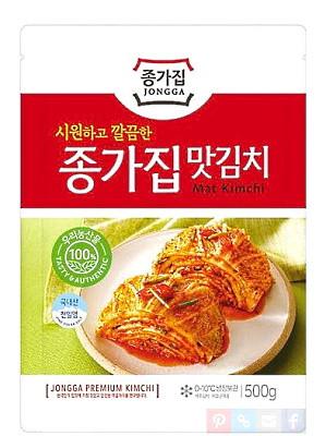 Korean Mat (Cut Leaf) Kimchi 500g - CHONGGA