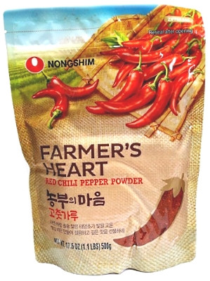 FARMER'S HEART Red Chilli Pepper Powder - NONGSHIM