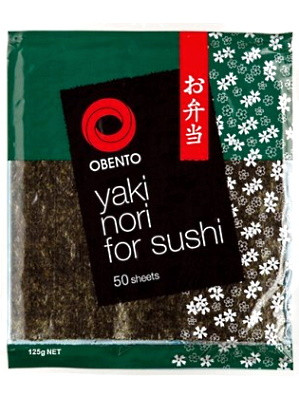 Yaki Nori for Sushi - 50 sheets - OBENTO