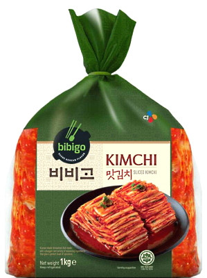 Sliced Kimchi 1kg (bag) - BIBIGO