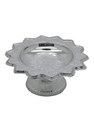 Small (70x30mm) Plastic Kantoke – Silver