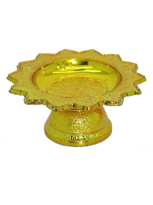 Small (70x30mm) Plastic Kantoke – Gold
