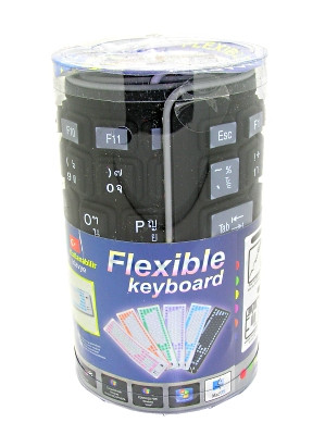 Flexible Wired (USB/PS2) Roll-up Keyboard – Thai Layout