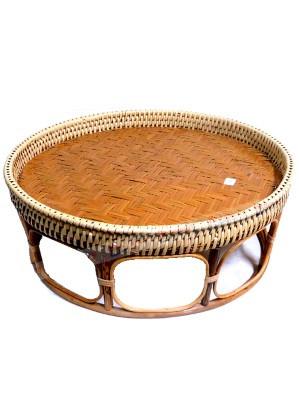 Large (46cm diameter) Rattan Khantoke