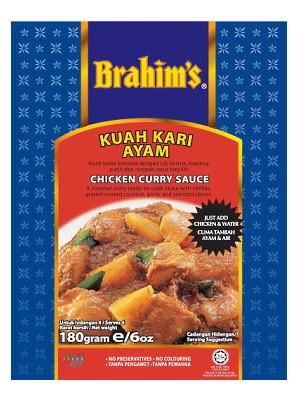 Chicken Curry Sauce (Kuah Kari Ayam) - BRAHIM'S