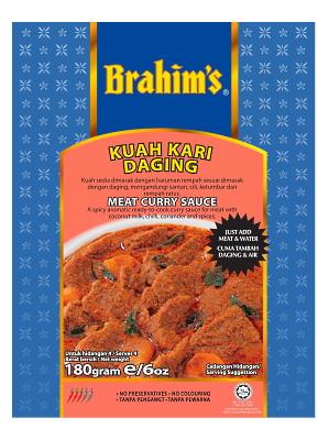 Meat Curry Sauce (Kuah Kari Daging) - BRAHIM'S