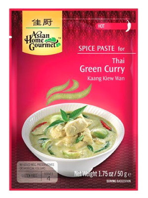 Thai Green Curry Spice Paste - ASIAN HOME GOURMET