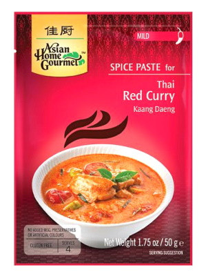 Thai Red Curry Spice Paste - ASIAN HOME GOURMET