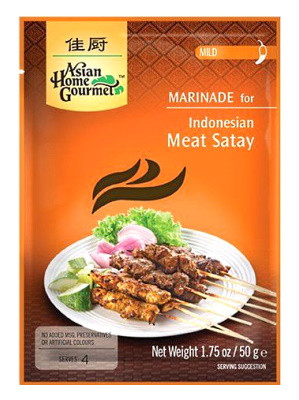 Indonesian Satay Spice Paste - ASIAN HOME GOURMET