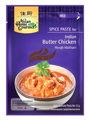 Indian Butter Chicken Spice Paste - ASIAN HOME GOURMET