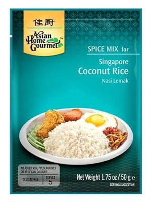 Singapore Coconut Rice Mix - ASIAN HOME GOURMET