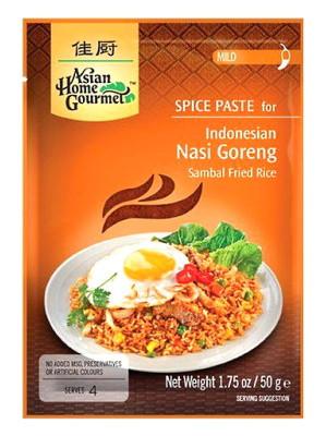 Indonesian Nasi Goreng (Sambal Fried Rice) Spice Paste - ASIAN HOME GOURMET