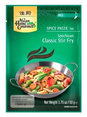 Szechuan Classic Stir Fry Spice Paste - ASIAN HOME GOURMET