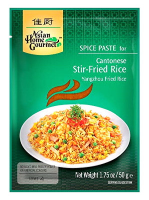 Cantonese Stir-Fried Rice Spice Paste - ASIAN HOME GOURMET