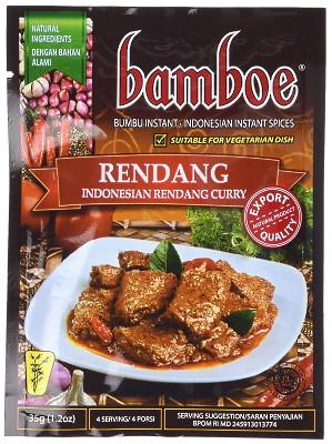 Rendang Curry Paste - BAMBOE