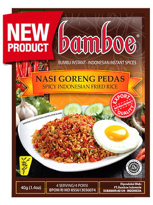 Nasi Goreng Pedas (Spicy Indonesian Fried Rice) Paste - BAMBOE