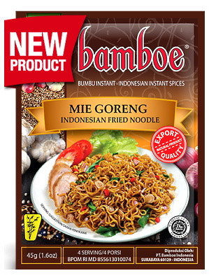 Mie Goreng (Indonesian Fried Noodle) Paste - BAMBOE