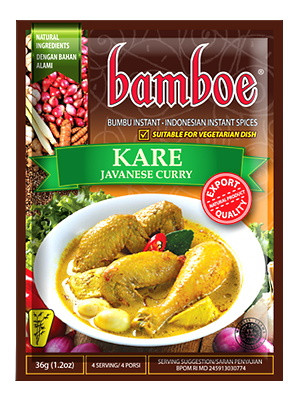 KARE (Javanese Curry) Paste - BAMBOE